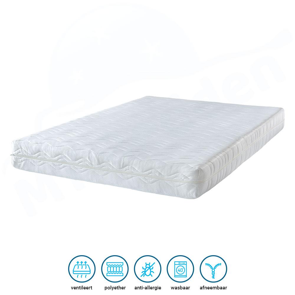 voordelig comfortschuim matras 20cm
