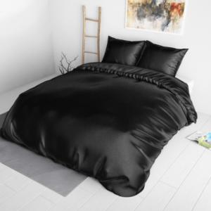 sleeptime beauty skin care dekbedovertrek black