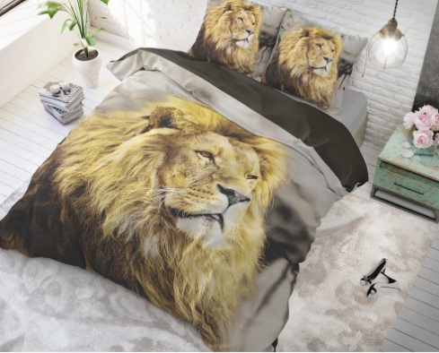 dreamhouse lion mind dekbedovertrek