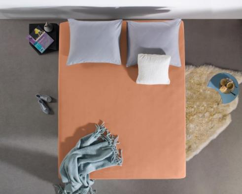 dreamhouse hoeslaken jersey pastel orange