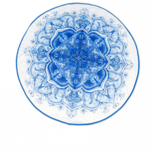blauw object