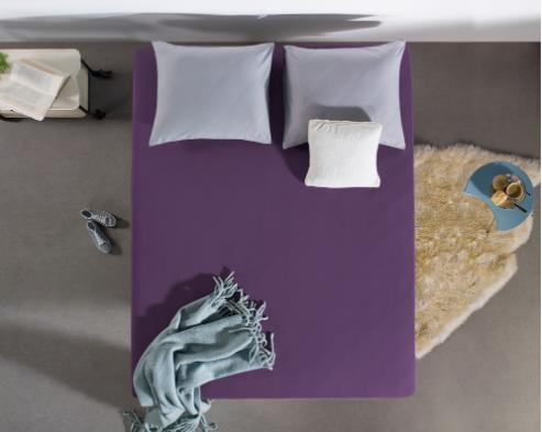 hoeslaken purple