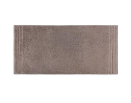bruine handdoek met werkje erin
