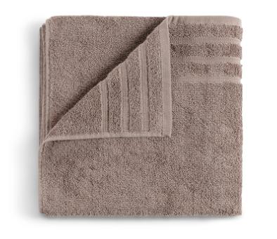 bruine handdoek